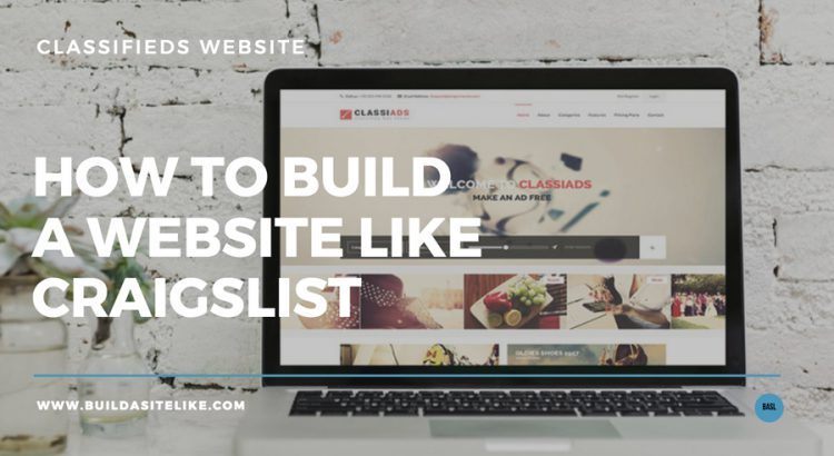 how to start a classifieds website