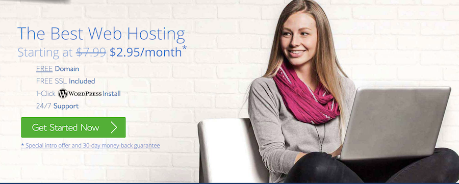 best cheap hosting bluehost