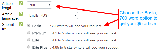 How to select writers on iwriter